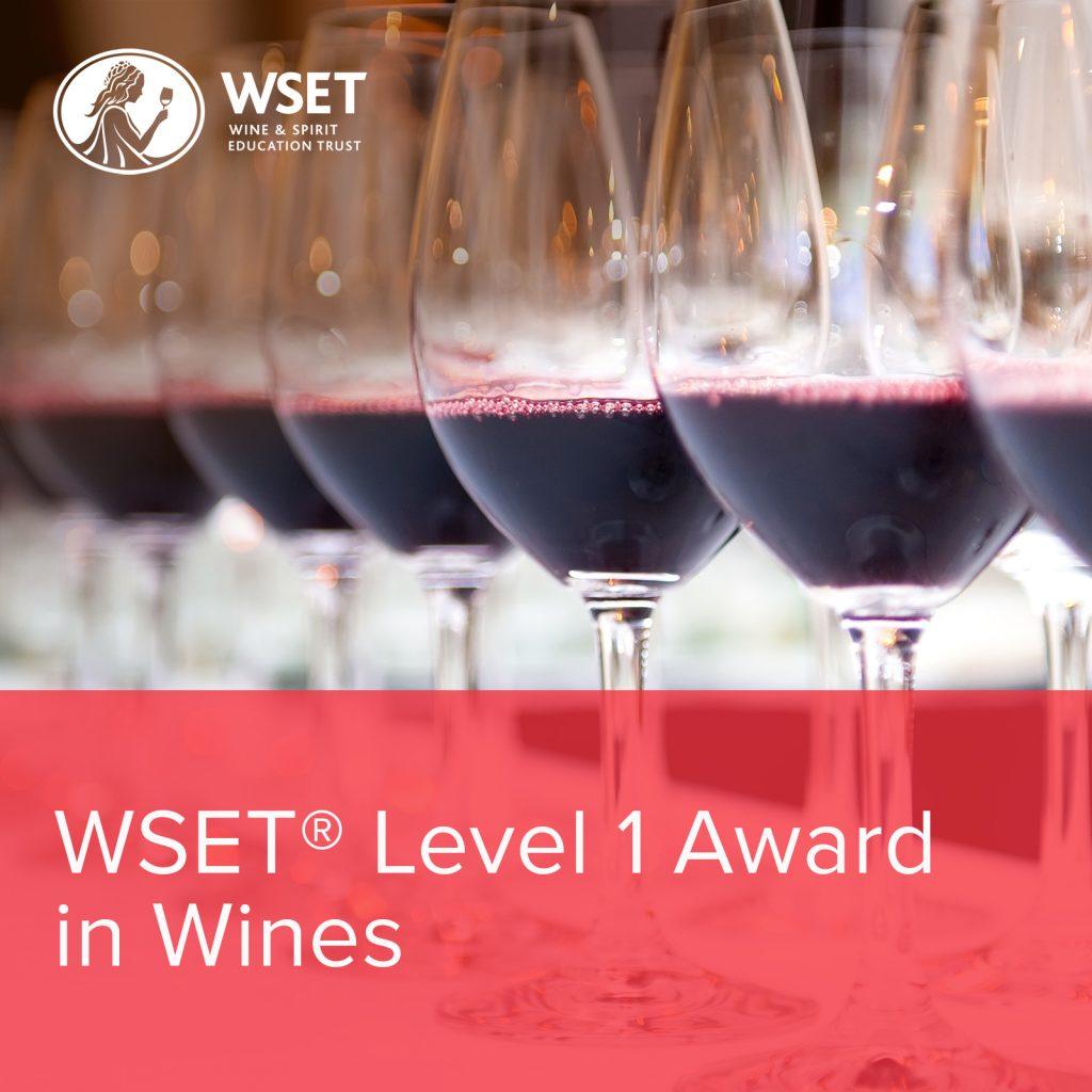 Wset® Level 1 Award  in Wines