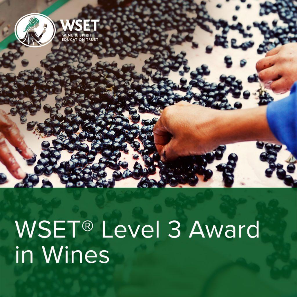 Wset® Level 3 Award  in Wines