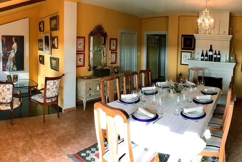 Comedor en La Casita