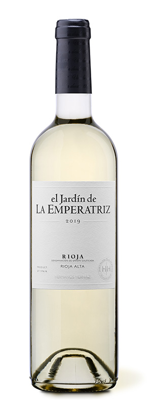 Botella de El Jardín de La Emperatriz Blanco 2020