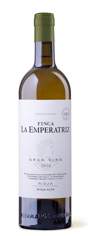 Botella Finca La Emperatriz Blanco 2016