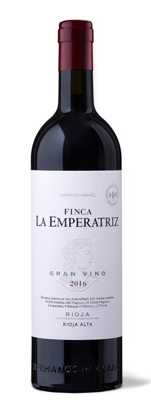 Botella Finca La Emperatriz Tinto 2016