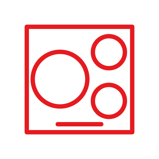 Pictograma placa de indicción