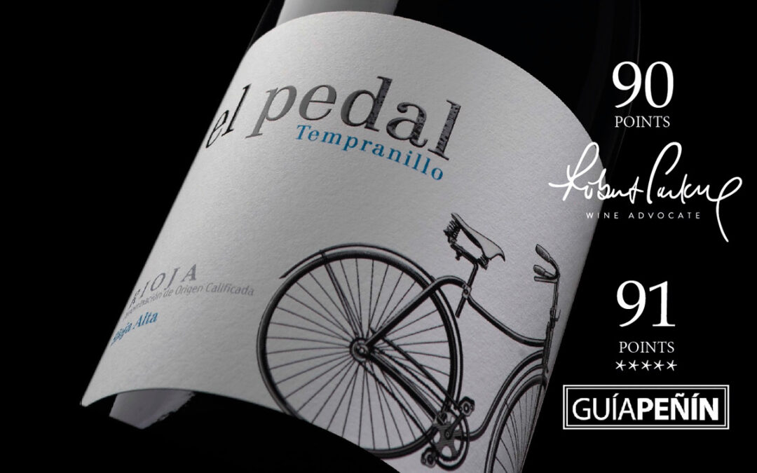 EL PEDAL TEMPRANILLO 2019 IS RELEASED WITH 90 PARKER POINTS